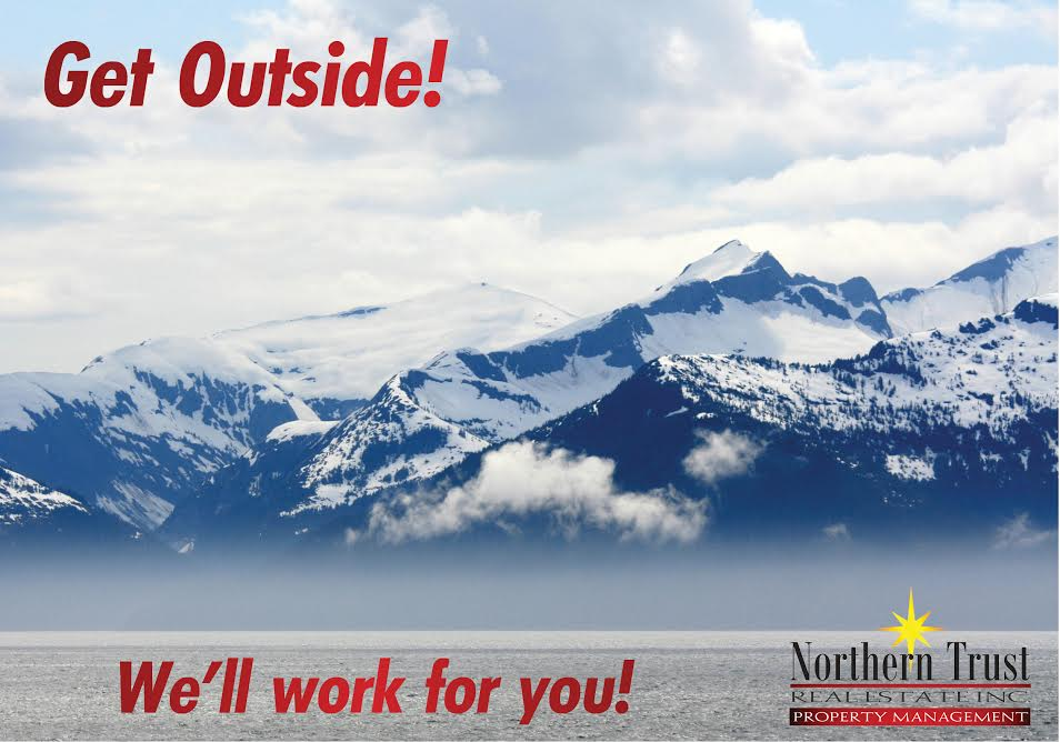Get outside - we'll work for you.
