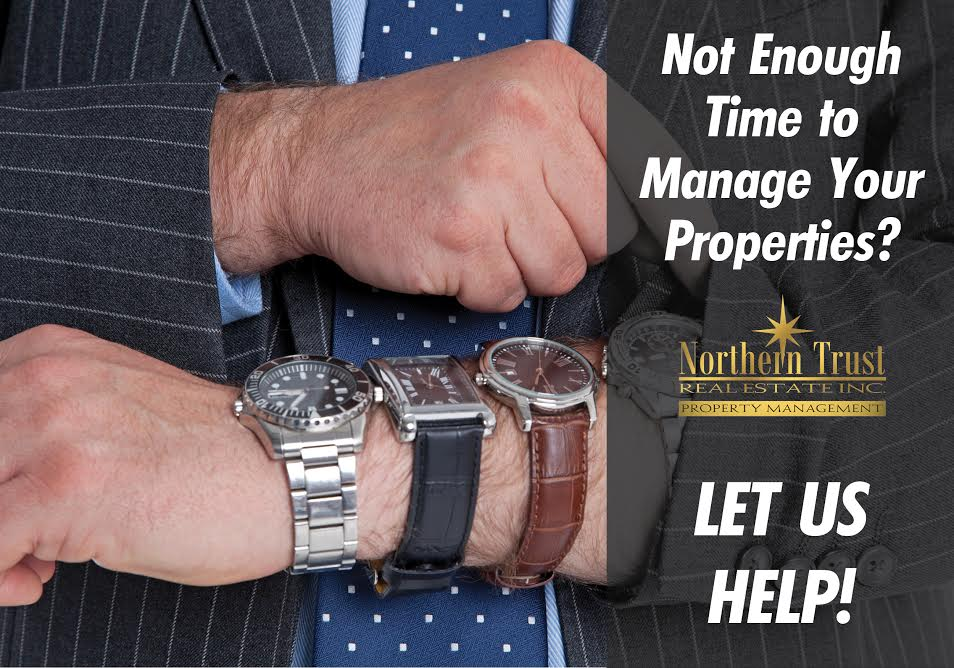 Let us manage your properties